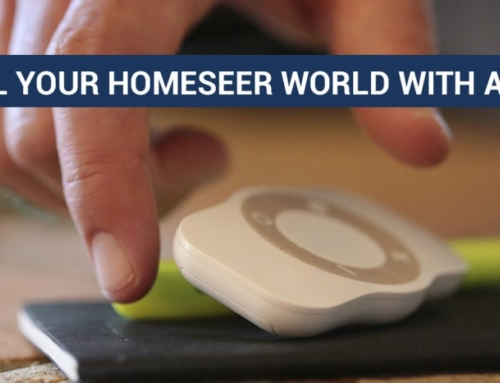 Control your HomeSeer world with a remote