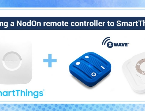 Adding a NodOn remote controller to SmartThings