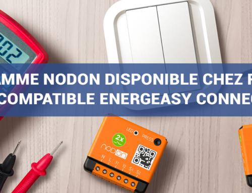 La gamme NodOn compatible Energeasy Connect de REXEL