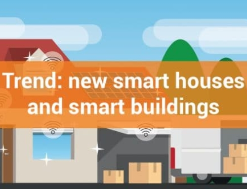 Trend: new smart houses and smart buildings