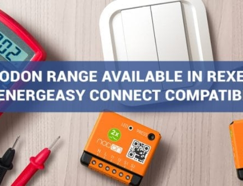 NodOn range is compatible with Energeasy Connect from REXEL