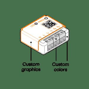 Brand labelling design