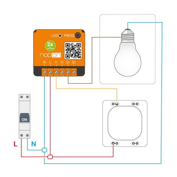 f r switch wiring diagram turn a wired wall switch into a remote to control roller shutters  remote to control roller shutters