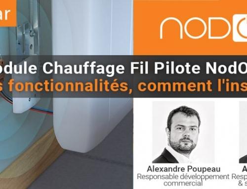 Module Chauffage Fil Pilote NodOn : Quelles fonctionnalités, comment l'installer ?