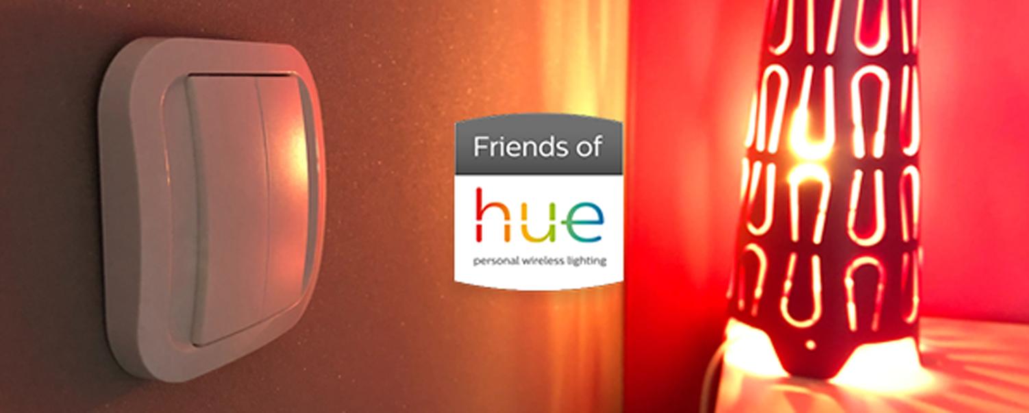 interrupteur Friends of Hue sans fil et sans pile