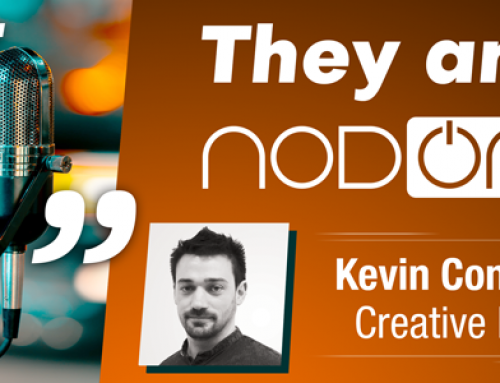 One job, one person with Kevin Condette, Creative Lead of NodOn